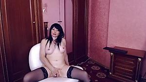 Hot MILF Fingering In A Vintage Room